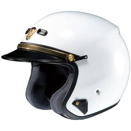 - Shoei RJ Plantinum-R LE Helmet, White, Size:LG