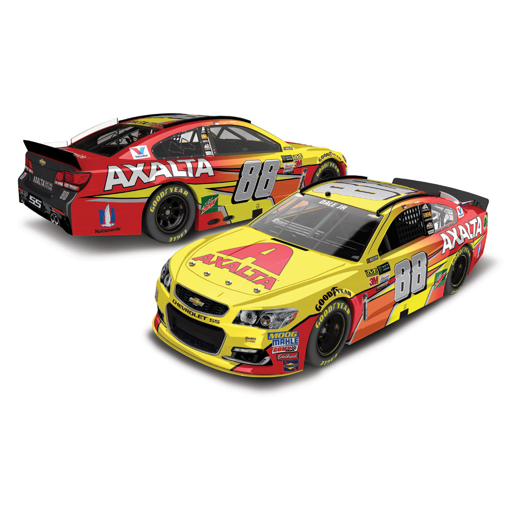 Dale Earnhardt Jr. Action Racing 2017 #88 Axalta 1:24 Monster Energy Nascar Cup Series... by Lionel LLC