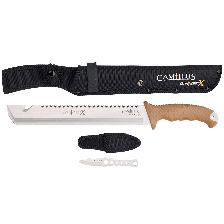 Camillus 18in Titanium Bonded Carnivore X Machete