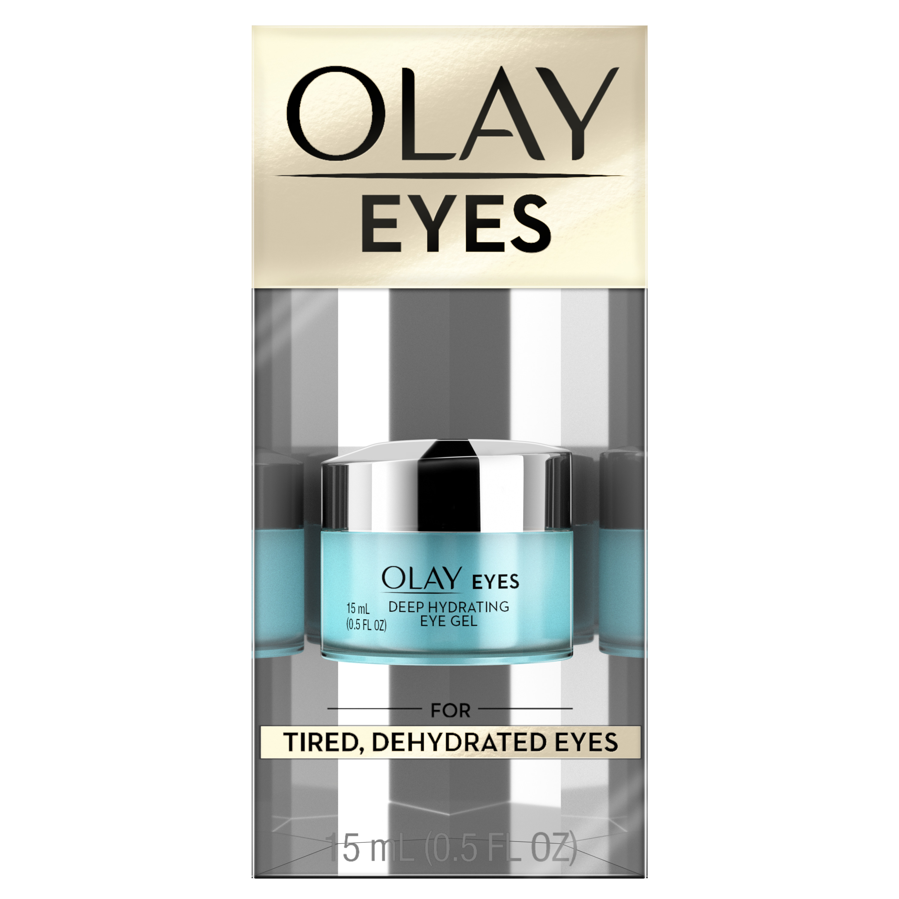 Olay Eyes Deep Hydrating Eye Gel with Hyaluronic Acid, 0.5 fl oz