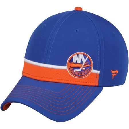 New York Islanders Fanatics Branded Iconic Streak Speed Stretch Fitted Hat - Royal