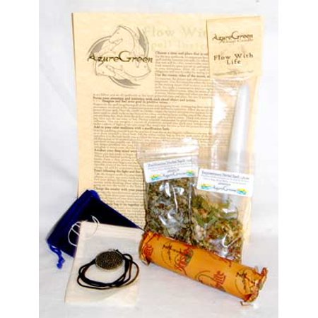 Fortune Telling Toys Flow With Life Easy Comfort Complete Ready To Cast Spell Kit Magic -