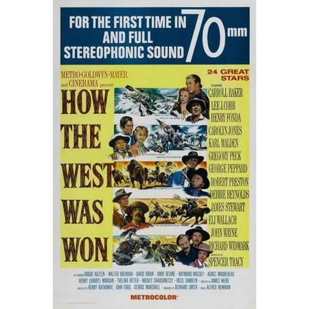 How the West Was Won POSTER Movie C (27x40)