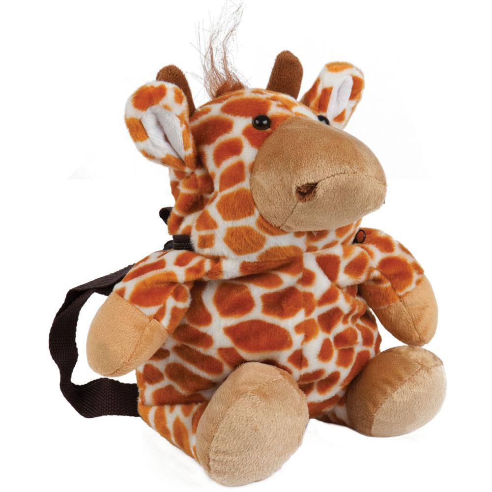 Animal World Giraffe Plush Mini Backpack Walmart Com