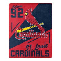 St. Louis Cardinals The Northwest Company 55'' x 70'' Spotlight Silk Touch Throw - Red - OSFA