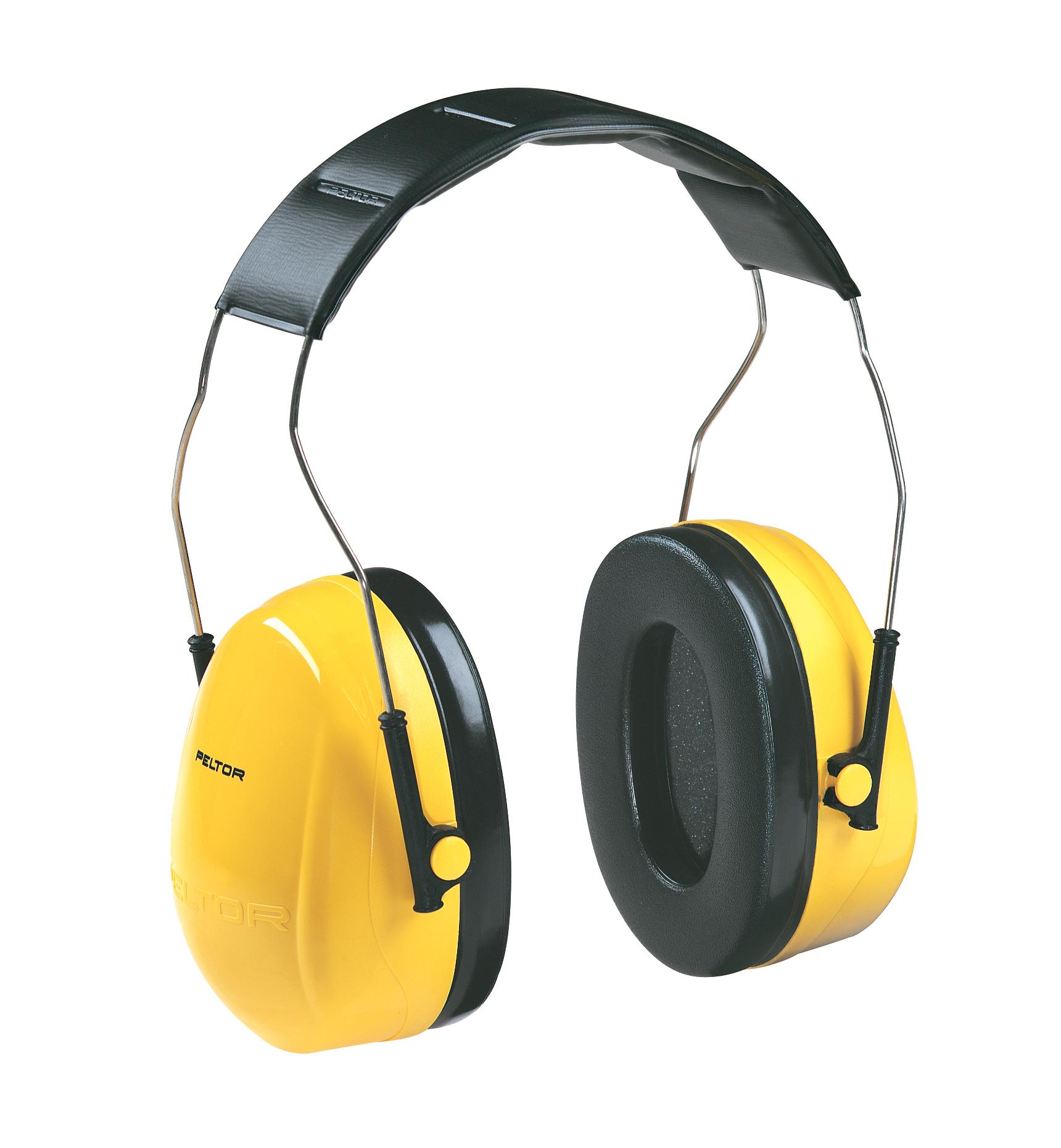 3M Peltor Optime 98 Over-The-Head Earmuffs