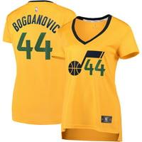 Bojan Bogdanovic Utah Jazz Fanatics Branded Women's Fast Break Replica Jersey Gold - Association Edition