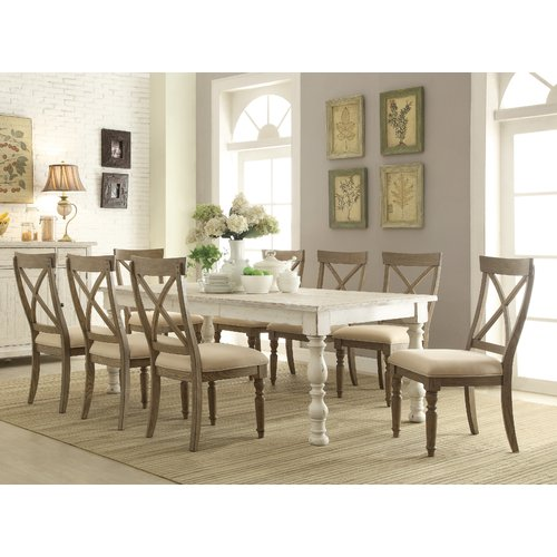 August Grove Mckenzie 9 Piece Extendable Dining Set