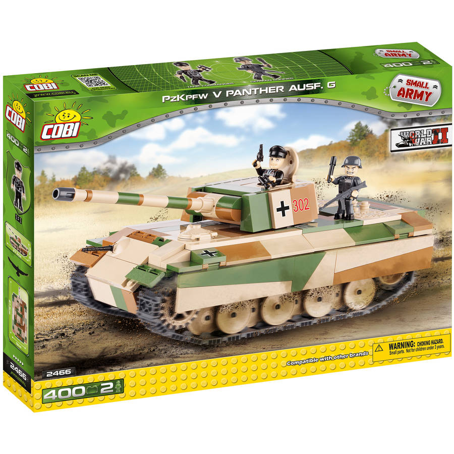 Cobi Small Army PZKPFW V Panther AUSF G Construction Blocks Building Kit