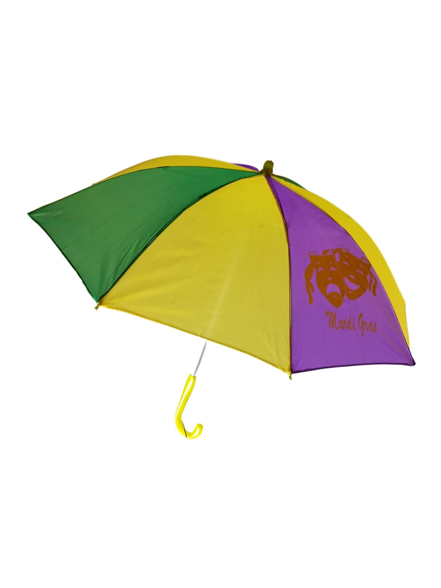 "Black Second Line Parasol 16/"" or Kids Umbrella"