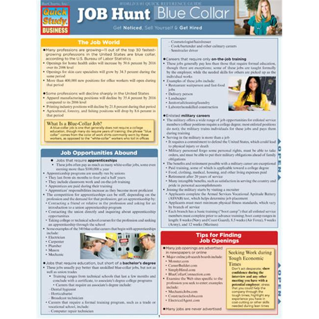 Job Hunt: Blue Collar Guide
