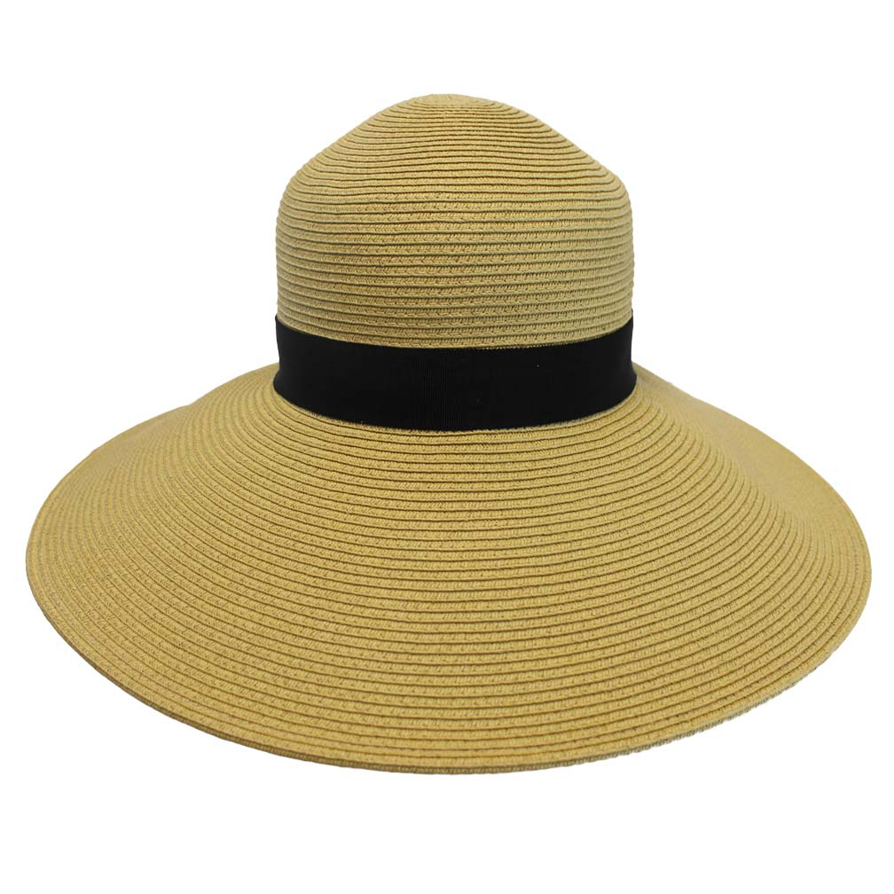 Luxury Divas Wide Brim Beach Floppy Hat