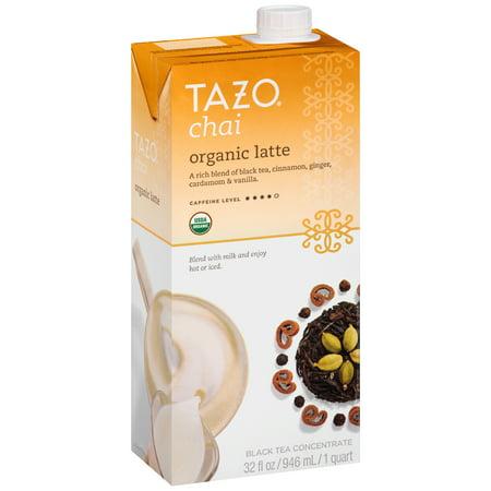 Tazo ® Chai Latte biologique Thé noir concentré 32 fl. onces. Carton