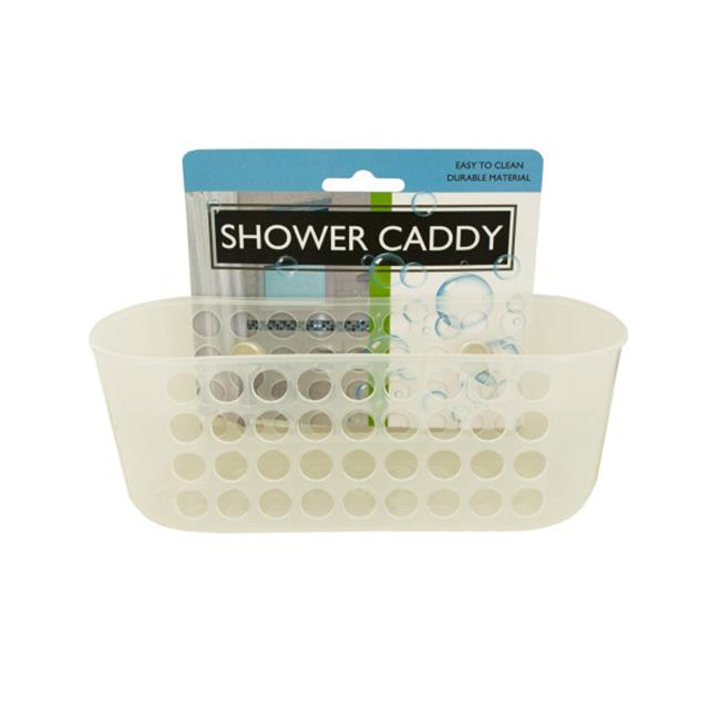 Bulk Buys BI798-36 Shower Caddy with Suction Cups, 36 Piece by Bulk Buys