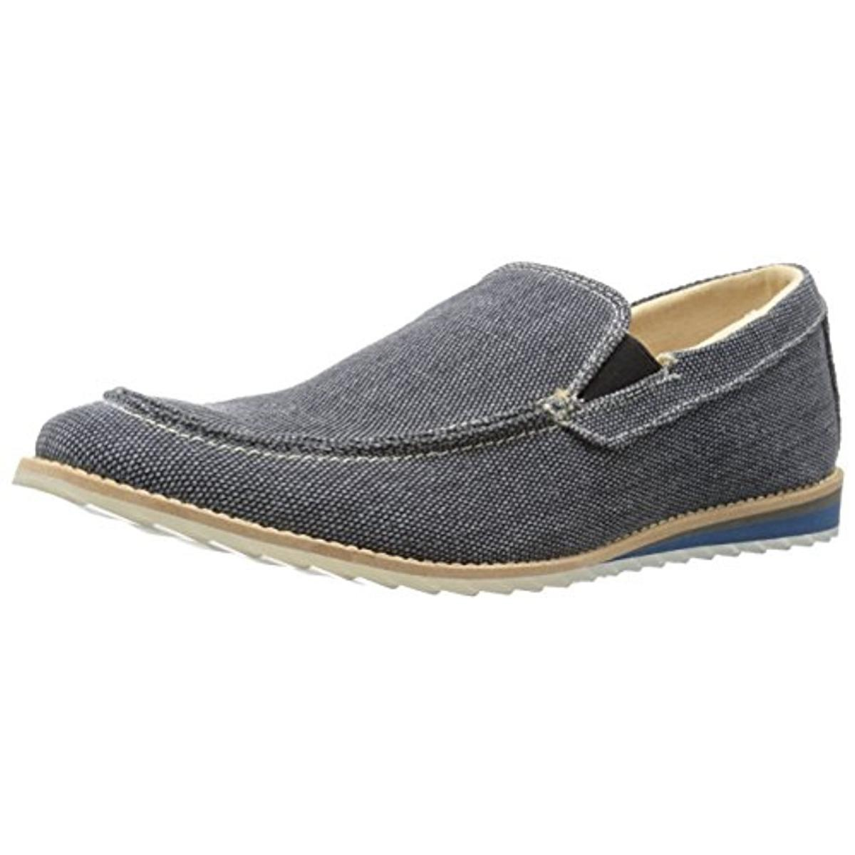 GBX Mens Flix Canvas Slip On Loafers by GBX