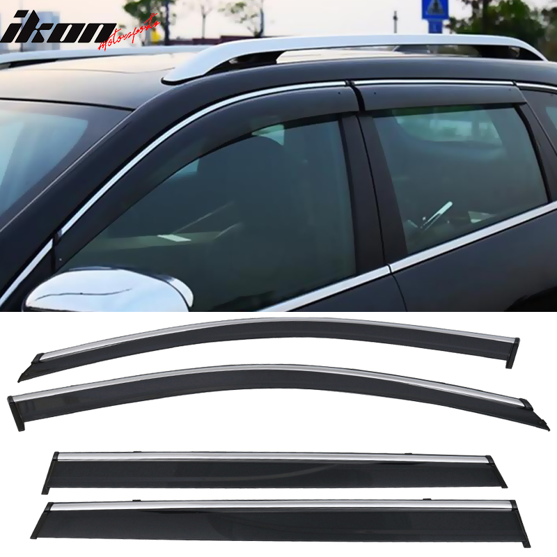 Front Windshield Sun Visor Cover Decoration Sheet Trim for Jeep Cherokee 2014 up Car Accessories