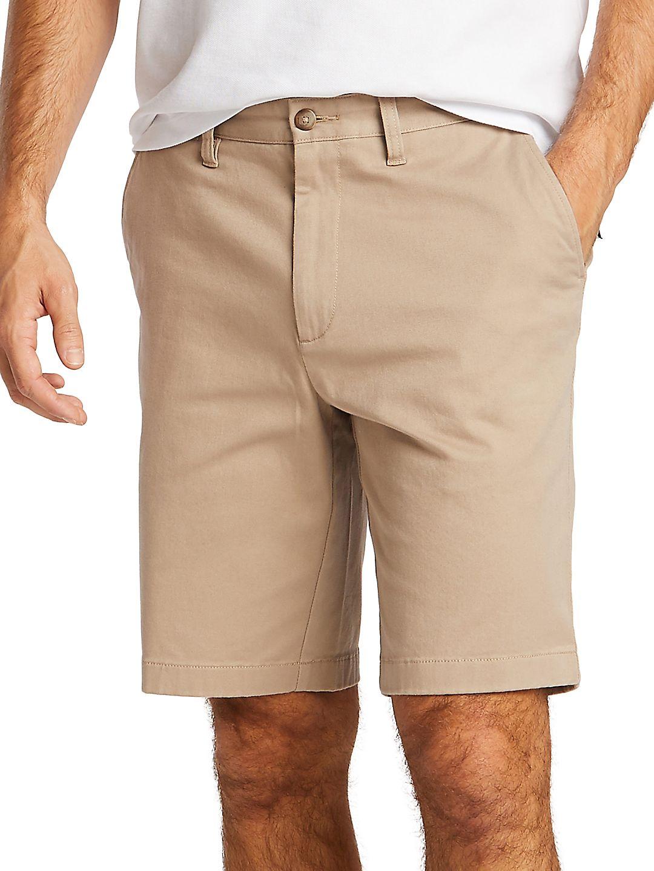 Classic-Fit Flat-Front Deck Shorts