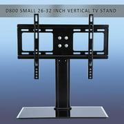 "Dilwe Adjustable Universal TV Stand Pedestal Base Mount Flat Screen TV Bracket 26-32"" Screen"