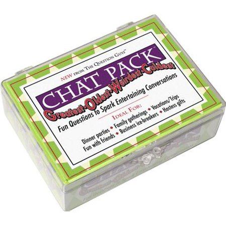 Chat Pack Greatest-Oldest-Weirdest-Coldest : Fun Questions to Spark Entertaining