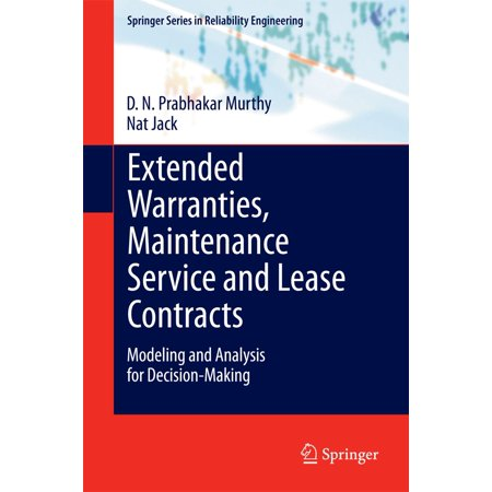 Extended Warranties, Maintenance Service and Lease Contracts - eBook (Auto Warranty Service Contracts)