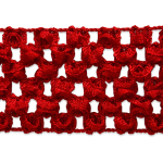 """Expo Int'l 20 yards of 1 3/4"""" Crochet Stretch Trim by the yard"""