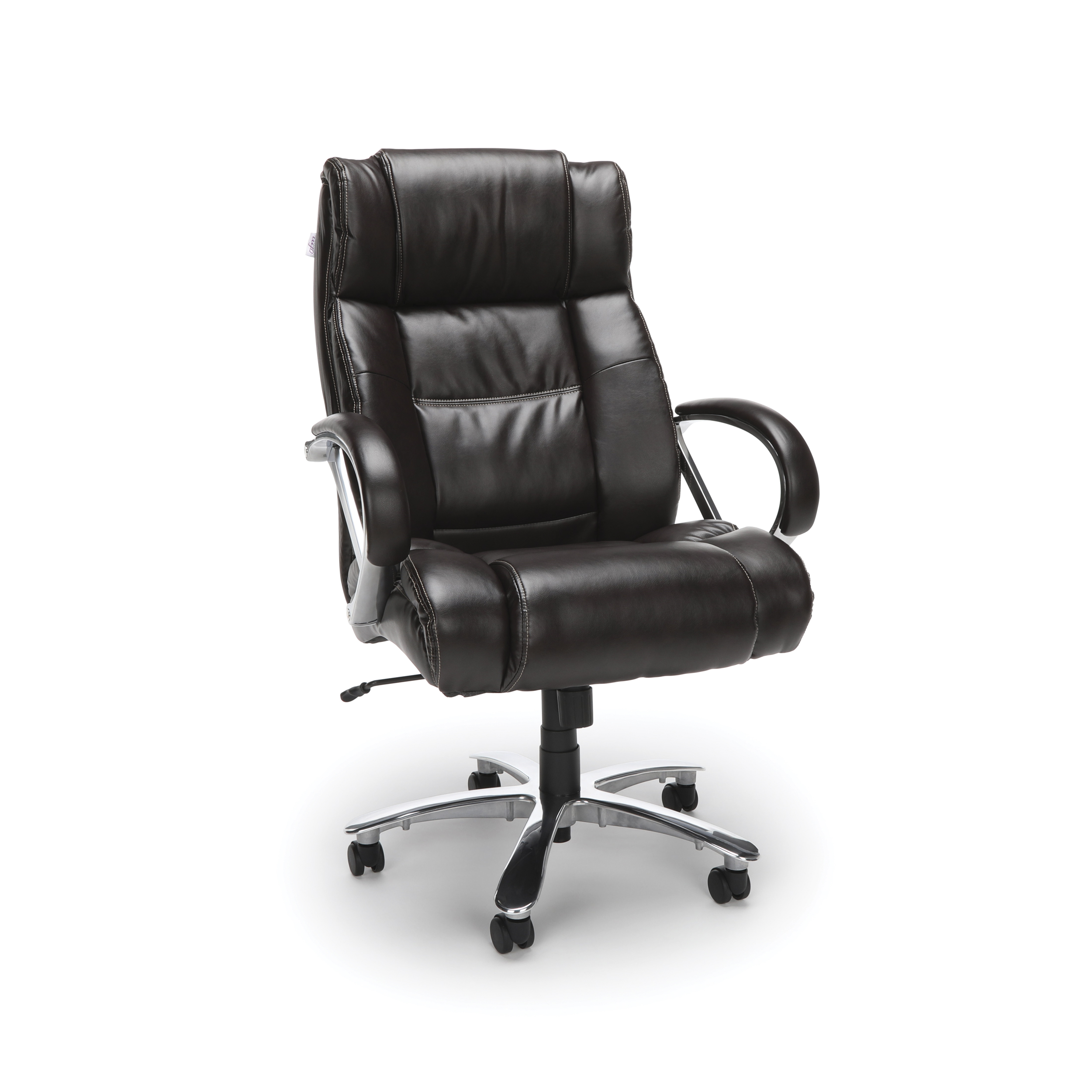 Ofm Avenger Series Model 810 Lx Leather High Back Big And Tall Executive Office Chair Black Com