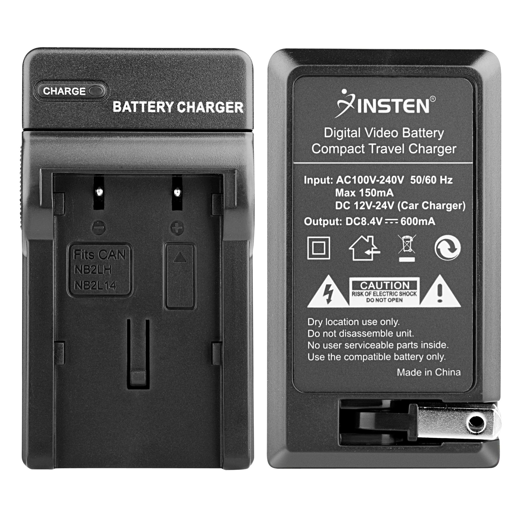Insten TWO BATTERY And CHARGER For CANON Digital Rebel XT Xti