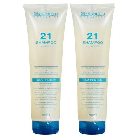 Salerm 21 Shampoo Silk Protein 300ml / 10.8oz