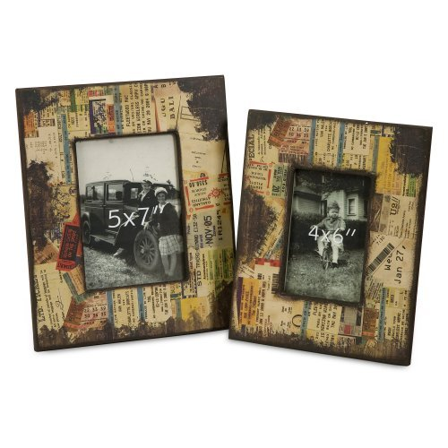 Wildon Home   2 Piece Journey Photo Picture Frames Set