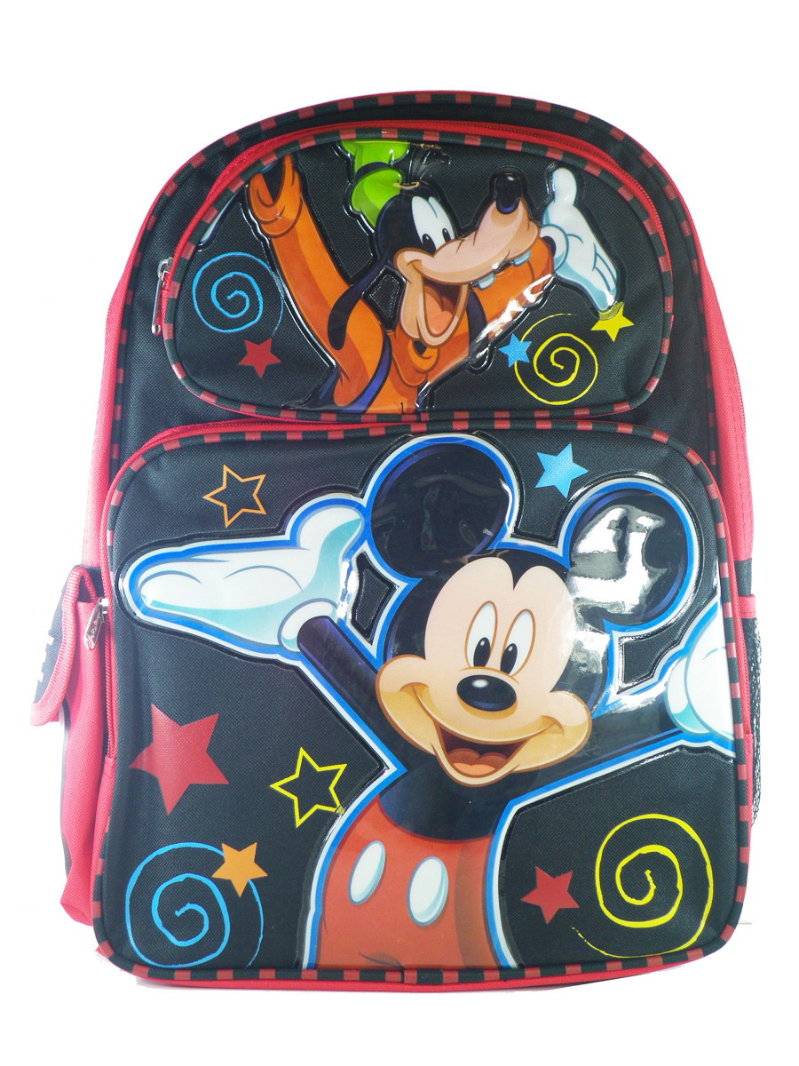 "NWT Mickey Mouse Clubhouse 14/"" Medium Backpack School Bag for Toddlers by Disney"