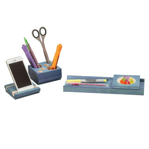 3280bu Splash Desk Accessories Multi, Colored Desk Accessories