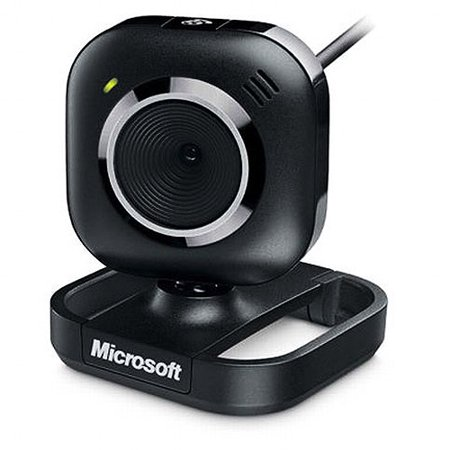 Microsoft Lifecam Vx 2000 Webcam   Black