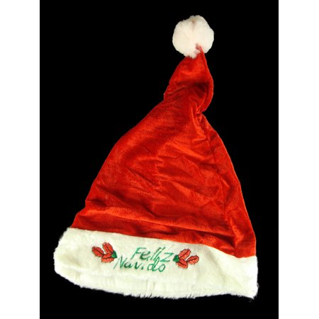 Casino Dealer Halloween Costume (Northlight Red and White Casino Gambling Unisex Adult Christmas Santa Hat Costume Accessory -)