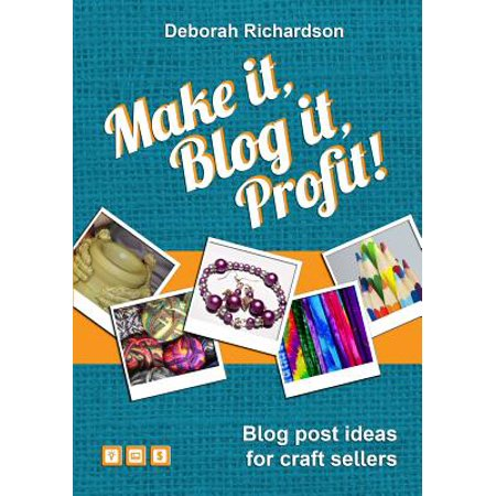 Make It, Blog It, Profit! - Blog Post Ideas for Craft Sellers (Halloween Blog Post Ideas)