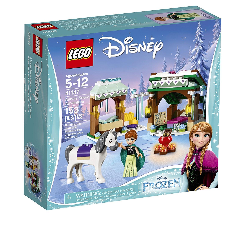 LEGO l Disney Frozen Anna's Snow Adventure 41147, Disney ...