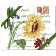Alice's Cottage Sunflower Flour Sack Kitchen Towels (set of 2)
