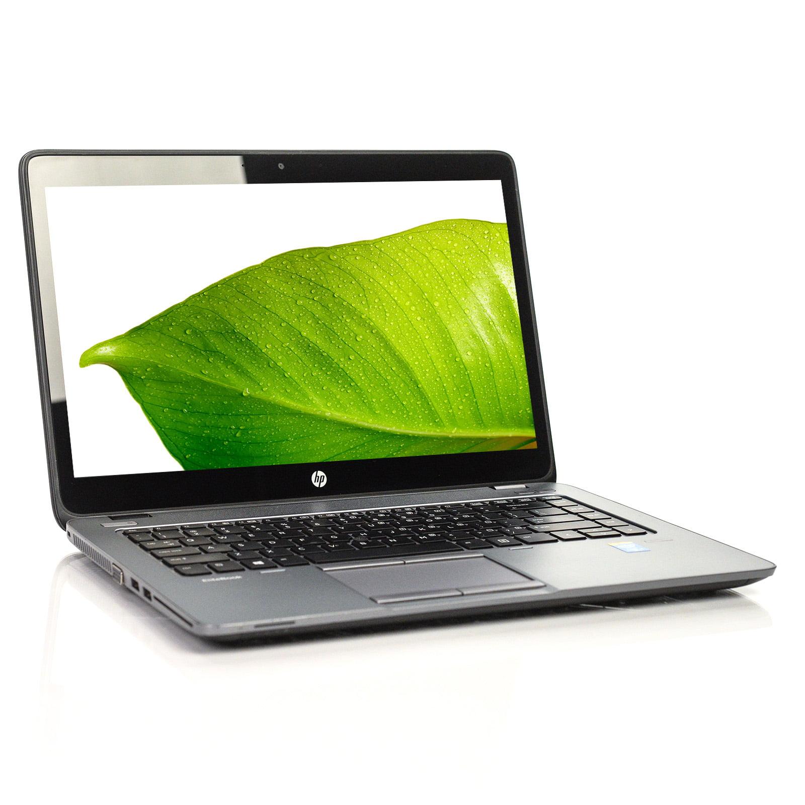 Refurbished HP EliteBook 840 G2 Ultrabook i5 Dual-Core 4GB 256GB SSD Win 10  Pro A v WCA