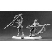 Reaper Miniatures Elf Fauns (9) #06217 Warlord Army Pack Unpainted RPG D&D Mini