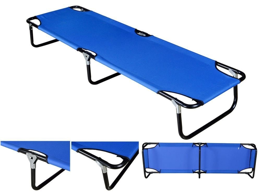 Outdoor Portable Military Folding Camping Bed Cot Sleeping Hiking Guest Travel by Camping Cots