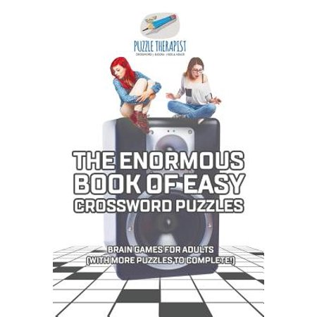 The Enormous Book of Easy Crossword Puzzles Brain Games for Adults (with More Puzzles to Complete!) - Halloween Crossword With Answers