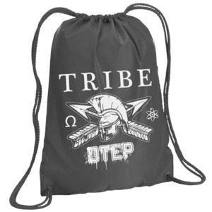 Otep Tribe Drawstring Backpack Grey