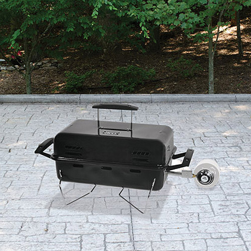 Awesome Backyard Grill Single Burner Portable LP Gas Grill