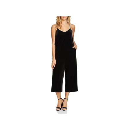 1.State Womens Velvet Cropped Jumpsuit