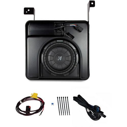 Kicker VSS Multi-Channel Amplifier and Subwoofer for 2007-2010 Chevrolet Silverado/GMC Sierra Crew Cab