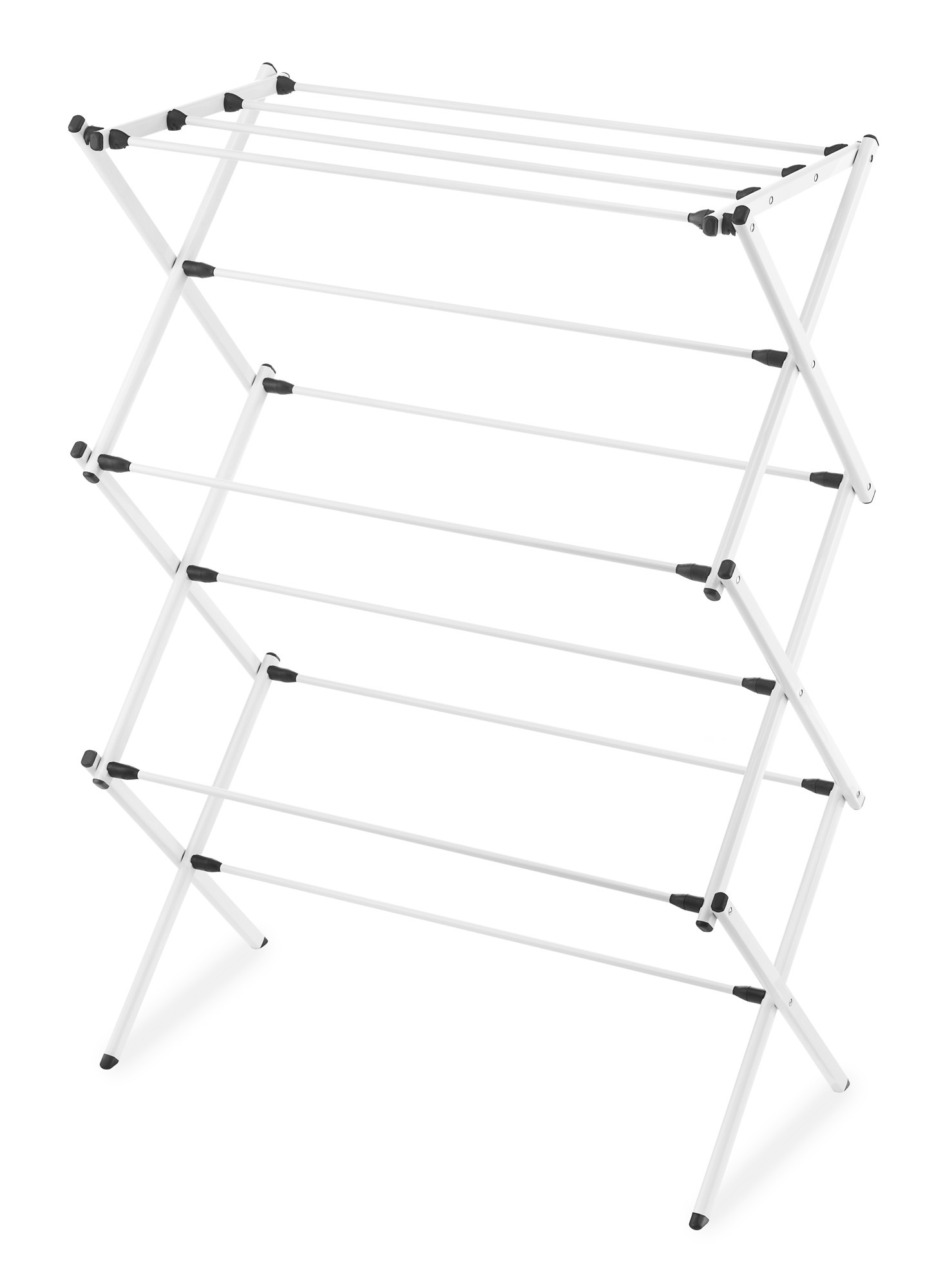 Whitmor Folding Drying Rack White Walmart Com