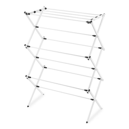 - Whitmor Folding Drying Rack White