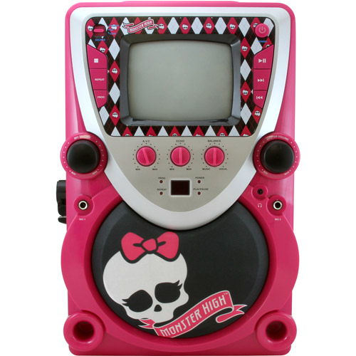 Monster High Karaoke Machine with Screen by Generic
