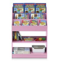 Product Image Furinno KidKanac Kids Bookshelf 5 Shelf Multiple Colors