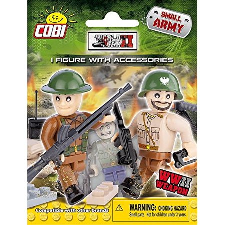 COBI Small Army World War II Figure Blind Pack (Best Small Army In The World)