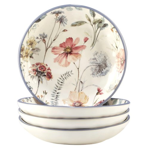 August Grove Fullen Pasta Bowl (Set of 4) by